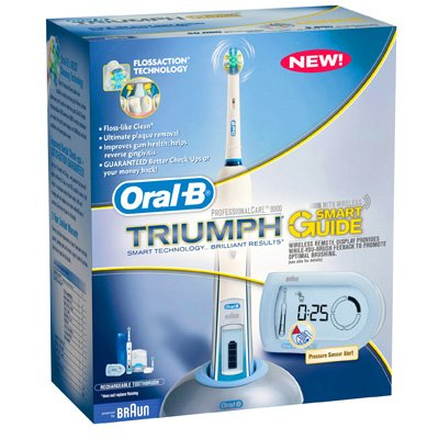 Braun Triumph Professional Care 9900 Power Toothbrush with Smart Guide