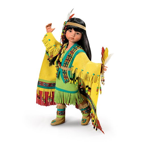 Native American-Inspired Ball-Jointed Doll