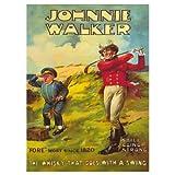 Johnnie Walker Whisky Postcard