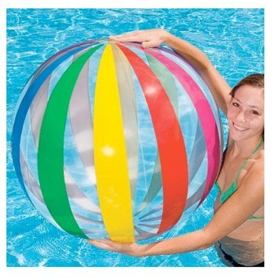 Intex Jumbo Beach Ball 42 In. Dia 10 Ga Vinyl by Intex