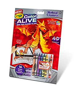 crayola color alive action coloring pages mythical creatures crayola color alive action coloring pages