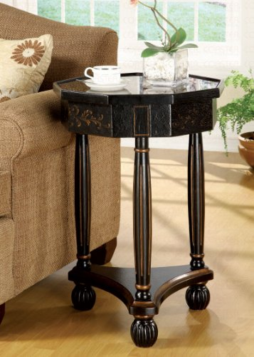 Image of End Table In Antique Cherry (B003XRFKFM)