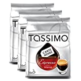 TASSIMO Carte Noire Expresso Intense, Shot Cup Size - (5 x 16 Drinks)