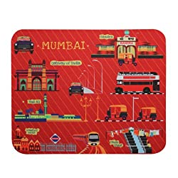 Mousepad Red Mumbai Meri Jaan