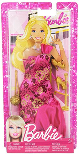Barbie Fashionistas- Sassy Pink Gown - 1