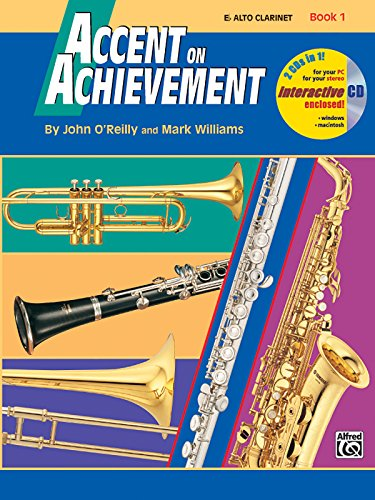 Accent on Achievement, Bk 1: E-flat Alto Clarinet, Book & CD PDF