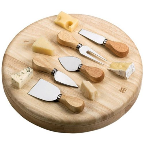 Iris - Tabla Degustacion Quesos + 5 Cuchillos 3356I