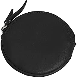 Clava Round Coin Purse - Cl Black