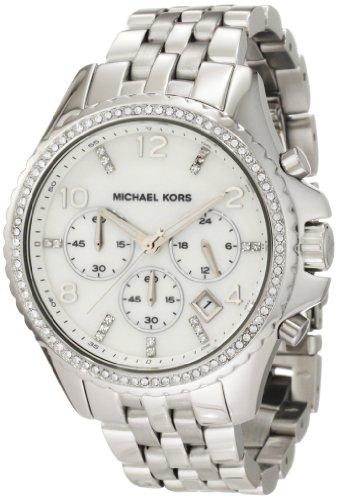 015f253582cf Michael Kors Women s MK5346 Pilot Silver Watch