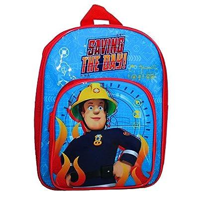 FEUERWEHRMANN SAM Kinder Rucksack Tasche Kindergartentasche Backpack Jupiter 30cm NEU