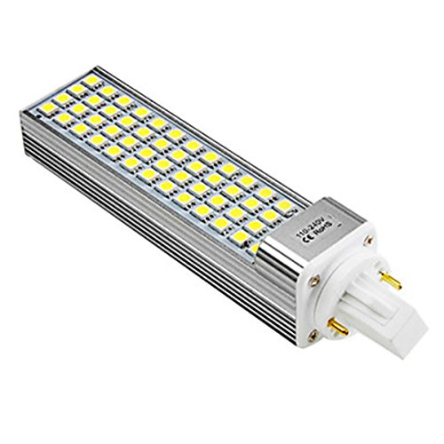 Generic G24 8W 52X5050 Smd 520-600Lm 5500-6500K Natural White Light Led Bulb (110-240V)