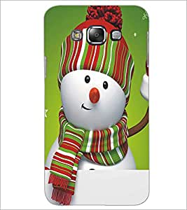 SAMSUNG GALAXY J7 SNOW MAN Designer Back Cover Case By PRINTSWAG