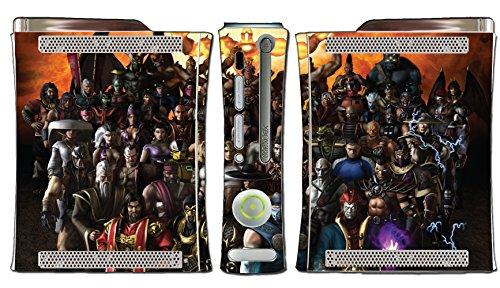 Street Fighter Super Ultra IV 2 3 III II Ken Ryu Bison Chun Li Guile Video Game Vinyl Decal Skin Sticker Cover for Microsoft Xbox 360 (Xbox 360 Warranty Sticker compare prices)
