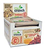 Raw Crunch Bars Organic Cranberry -- 12 Bars