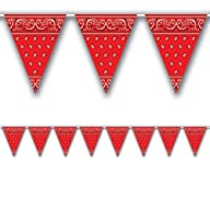 Bandana Pennant Banner Party Accessor…