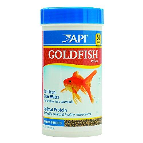 API Goldfish Pellet, 7.0-Ounce (Api Fish Food compare prices)