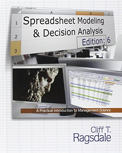 Spreadsheet Modeling & Decision Analysis: A Practical Introduction to Management Science (with Essential Resources Printed Access Card) (Spreadsheet Modeling compare prices)