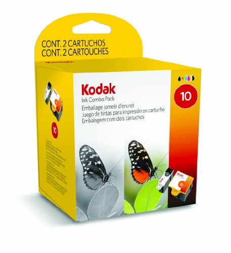 Kodak Combo Colour & Black Ink Cartridge, No 10, EasyShare 500 series Inkjet Printers