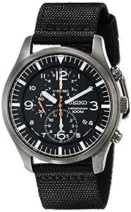 Seiko Men's SNDA65 Chronograph Strap Watch