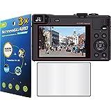GuarmorShield 3x Panasonic Lumix DMC-ZS40 DMC-TZ60 Digital Camera Premium Clear LCD Screen Protector Guard Shield Kit (NO CUTTING, GUARMOR Brand)