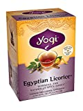 Yogi Teas Egyptian Licorice, 16 Count (Pack of 6)