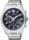 Citizen Herren-Armbanduhr Chronograph Quarz Titan CA4010-58L