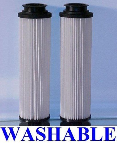 2 WASHABLE and REUSABLE Hepa Filters for All Bagless Hoover Windtunnels