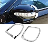 Chrome Mirror Cover 1999 Sightglassshield For MERCEDES W220 S320 S350 S600 S55