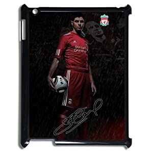 Steven Gerrard iPad 2,3,4 Case, Steven Gerrard - Liverpool FC iPad 2,3,4 Black Plastic Protective Case Cover at customstyle, sports, personalised, cool, fashion phone case from customstyle