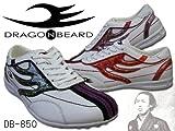 [ドラゴンベアード] DRAGON BEARD FIERY DB-850 カジュアルスニーカー DBシリーズ 850 WHT*RED*NVY 8(約25....