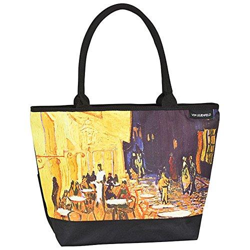 """VON LILIENFELD Borsa shopping Vincent van Gogh: """"Caffè notturno"""""""