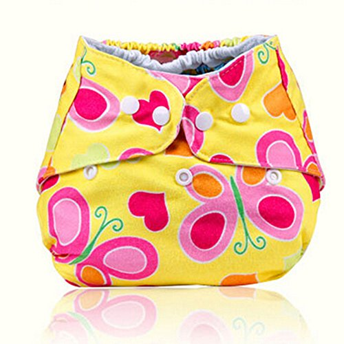 Hot Baby Infant Printed Cloth Diapers Reusable Nappy Washable Snap Nappy front-936719