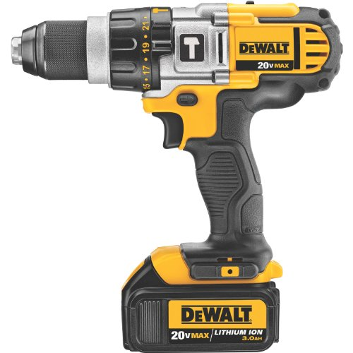 Great Deal! DEWALT DCD985L2 20-Volt MAX Li-Ion Premium 3.0 Ah Hammerdrill/Driver Kit