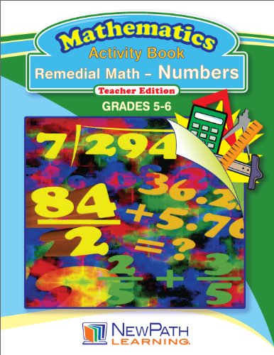 NewPath Learning Remedial Math-Numbers Reproducible Workbook, Grade 5-6