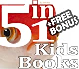 5-Book Collection: Goldfish, 123 Dogs, Alphabet, My Donkey, Farm Animals: (Free Bonus: 30+ Free Online Kids Jigsaw Puzzle Games!)