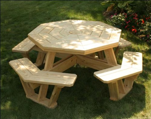 Free Plans For Octagon Walk In Picnic Table