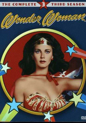 DVD : Wonder Woman: The Complete Third Season (, Standard Screen, 4 Disc)