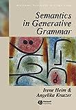 img - for Semantics in Generative Grammar (Blackwell Textbooks in Linguistics) book / textbook / text book