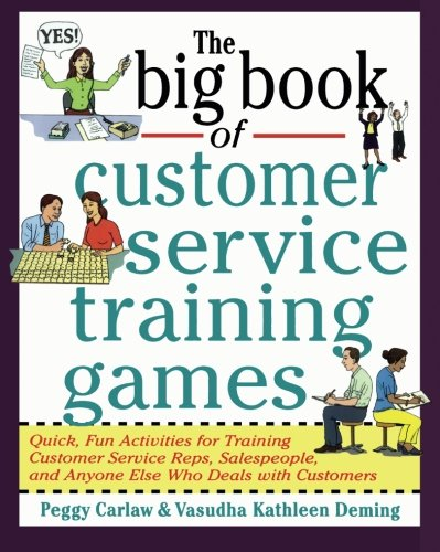 The Big Book of Customer Service Training Games (Big Book Series) PDF