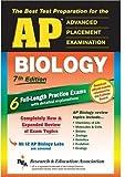 img - for AP Biology (REA) - The Best Test Prep for the AP Exam: 7th Edition (Test Preps) by Callihan Laurie Ann Buckley Jr. James M. Blinn Joyce A. Rohde Shira Templin Jay M. (2004-08-06) Paperback book / textbook / text book