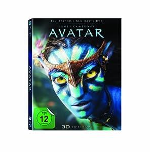 Avatar - Aufbruch nach Pandora 3D (inkl. 2D Blu-ray + DVD)