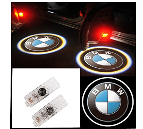 2X Laser Led Door Courtesy Shadow Projector Light For Bmw X1 X3 X5 X6