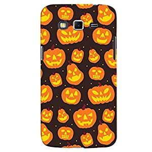 ColourCrust Samsung Galaxy Grand 2 G7106 Mobile Phone Back Cover With Halloween Pattern Style - Durable Matte Finish Hard Plastic Slim Case