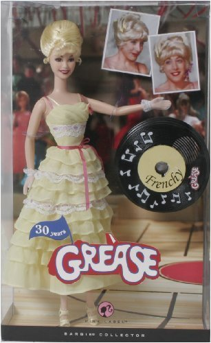 Barbie Pink Label Collection Grease Baribie Doll - Frenchy (Grease Sandy Barbie Doll compare prices)