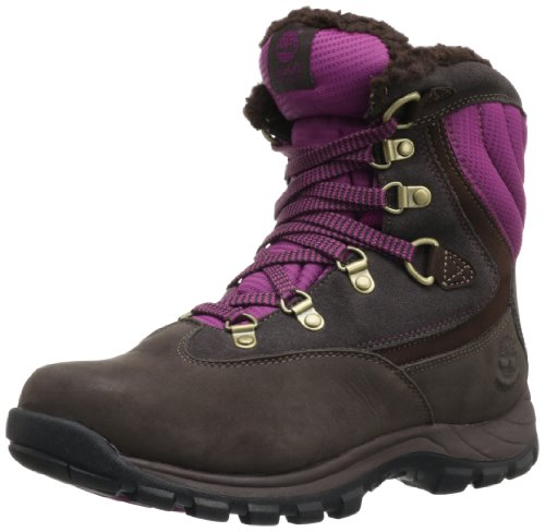 Timberland Womens Chillberg FTW_EK Chillberg Sport WP Boot Snow Boots Brown Braun (Dark Brown with Burgundy) Size: 39.5