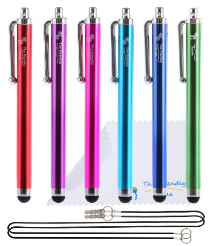 the-friendly-swede-tm-universal-capacitive-touch-screen-stylus-multicolor-bundle-of-6-215-inch-stylu