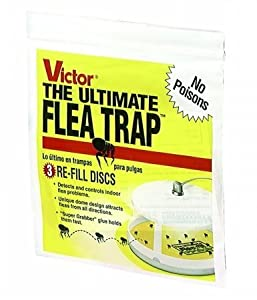 Woodstream Lawn & Grdn D - Victor Flea Trap Refill 3 Pack