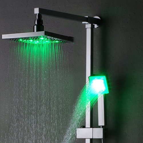 Lightinthebox Single Handle Wall Mount Rain Shower Faucet With Adjustable Sl