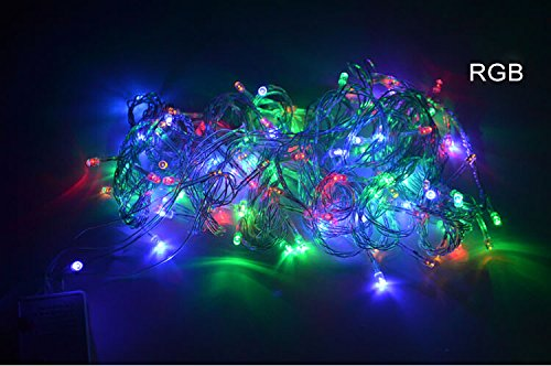 Royoled 10M 100 Led String Fairy Light For Wedding,Christmas,Party, Holiday(Multi-Color With Tail Plug)