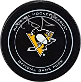 Evgeni Malkin Pittsburgh Penguins Autographed Official Game Puck - Fanatics Authentic Certified - Autographed NHL Pucks